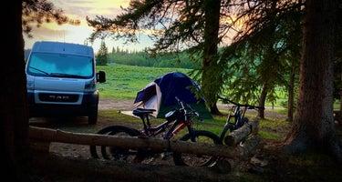 Washington Gulch Designated Camping