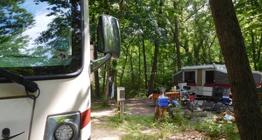 Starved Rock State Park Campground