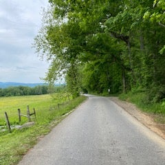 Cades Cove Scenic Drive on a no cars allowed day