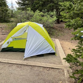 tent pad. this is a 3 person tent