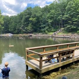 swimming & fishing pond
