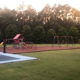 Basketball and Playground across from Premium RV Sites.