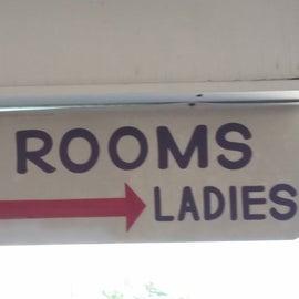 pool side rest rooms