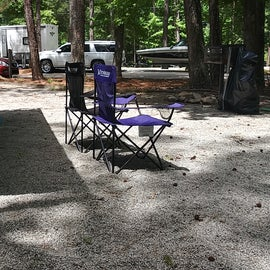 large camp spot for 6 people