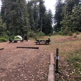 Our campsite, #418