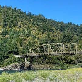 Pretty bridge over the river