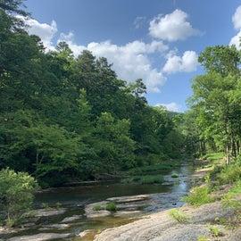 Walnut Creek view from swimming area