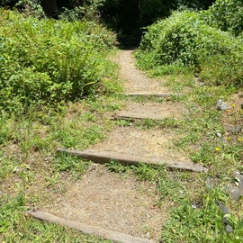 steps up to site 87 and 88