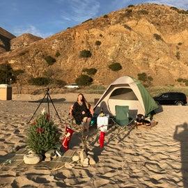 We brought Xmas to the beach.