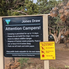 Jones Draw BLM rules. All you need to know.