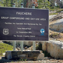 Welcome to Faucherie Lake Group Campground