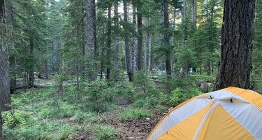 Crest Camp Trailhead Campground