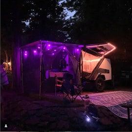 Love lighting up the TigerMoth at night!