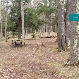 Canaan Valley Resort Site Tent 3
