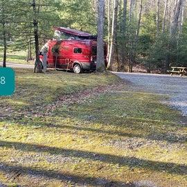 Little Beaver State Park Site 18