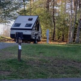 Little Beaver State Park Site 28