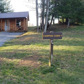 Little Beaver State Park Camping Cabin 1