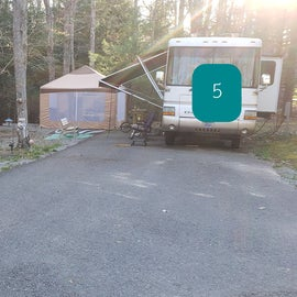 Little Beaver State Park Site 5