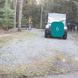 Little Beaver State Park Site 6