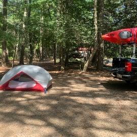 Nice flat campsite