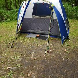 my 9'x7'x6'tall tent