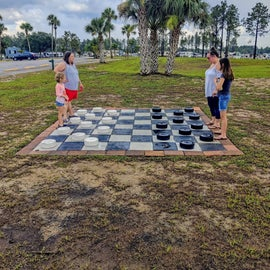 checkers outdoors