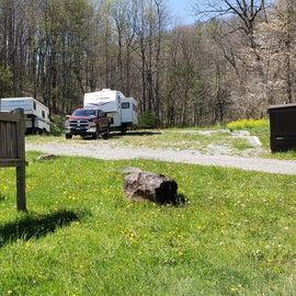 Fox Creek Horse Camp portable toilets