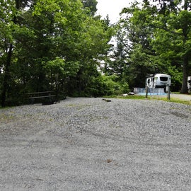 One of the Large RV sites