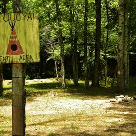 Primitive Camping Area