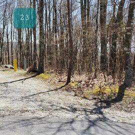 Chestnut Hollow Horse Camp Site 23