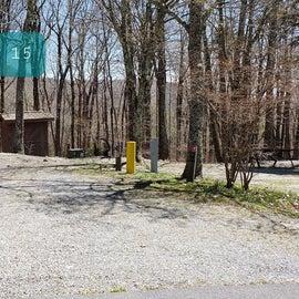 Chestnut Hollow Horse Camp Site 14