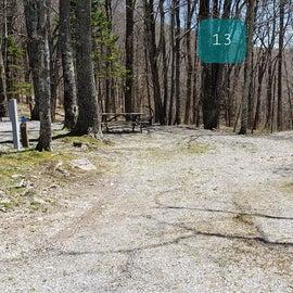 Chestnut Hollow Horse Camp Site 13