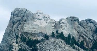 Mount Rushmore Under Canvas