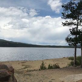 Sugar Lake view.