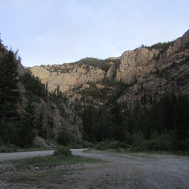 View of the canyon