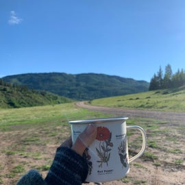 perfect morning coffee spot!