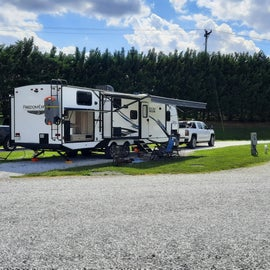 Stayed in site #7 on our way south.