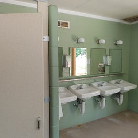 Bathroom at the other location within the campground that was more HC accessible.