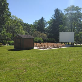 Really nice community amphitheater at the campground