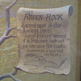 Raven Rock information that we didn't remember or pay attention to growing up.  Make sure you get a permit if you go to check it out.   No pets allowed at this location outside of the Shawnee Forest.