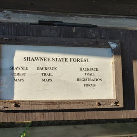 Shawnee State Forest Backpacking information
