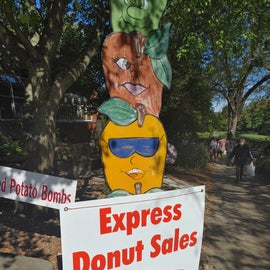 If you go to the backside of the common area you will find an Express Donut Sales window and can by pass the longer lines.