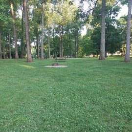 Located another camping area that wasn't being used within the campground.  The parking is a slight walk away and non-electric.