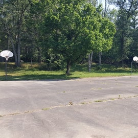 Additional basketball courts/parking near the two picnic shelters and the 2 additional playgrounds.