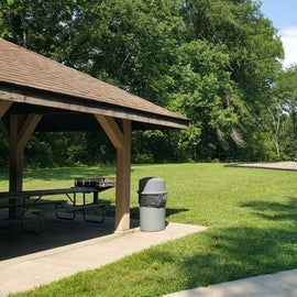 An additional playground and picnic shelter