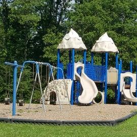 Up close playground photo