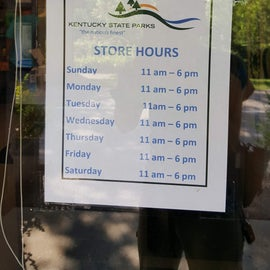 Camp Store Hours