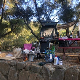 The Picnic Area at Our Site