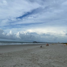 View of it's sister pier here in Myrtle Beach State Park