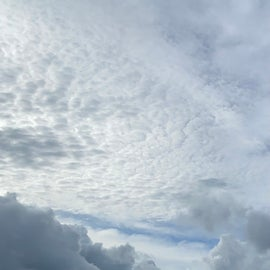And in case you missed it, look at those clouds!